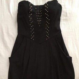 Guess Black Studded Dress